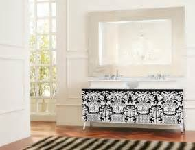 hermitage lacquered wooden vanity modern bathroom