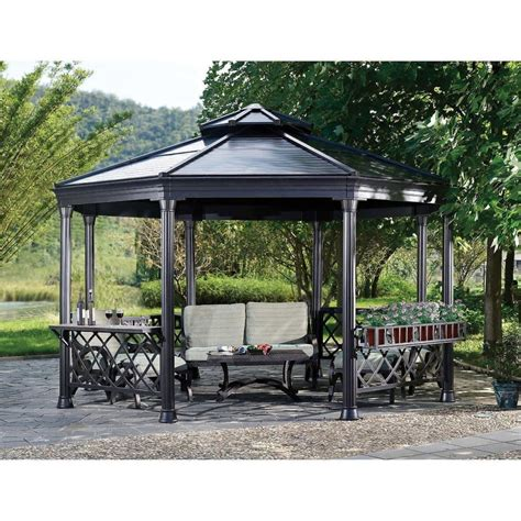 costco gazebo gazebo design interesting octagonal gazebo costco gazebo