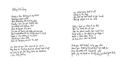 testo some like you image adele rolling in the handwritten lyrics