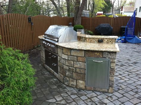 small outdoor kitchen small outdoor kitchen projects 171 outdoor living of new jersey