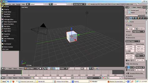 blender tutorial scene ira krakow s blender 3d 2 62 default startup scene video