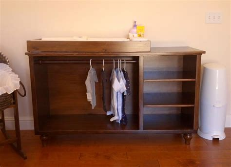 ana white modified emerson changing table diy projects