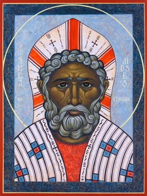 St Mosse byzantine moses the black in the flesh