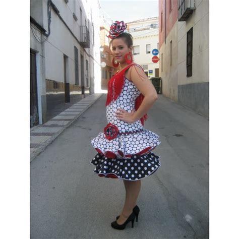 vestido gitana corto traje corto de flamenca
