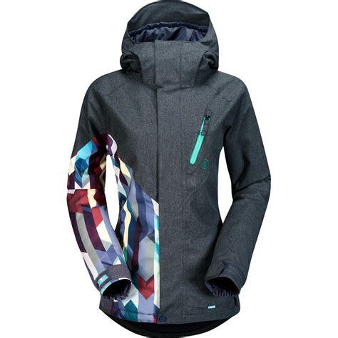 snowboard jackets womens sale volcom fawn insulated snowboard jacket women s peter glenn