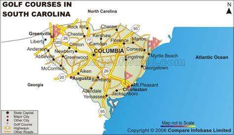 carolina golf courses map south carolina golf courses map best golf courses in sc