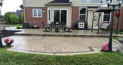 installing pavers patio installing a patio with pavers how to install a laid