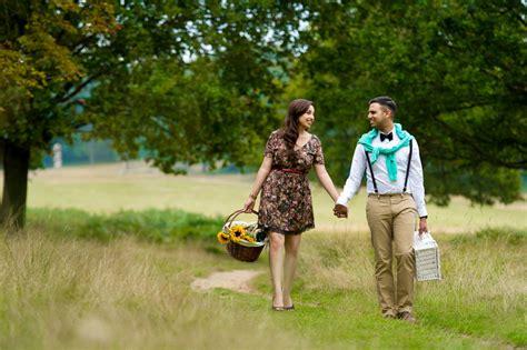 Wedding Photoshoot Concept by Pre Wedding Concept Idea Dina Sandeep A Picnic Pre