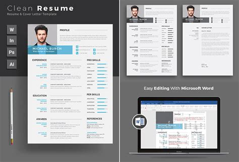 Ms Word Professional Resume Template by 20 Professional Ms Word Resume Templates With Simple