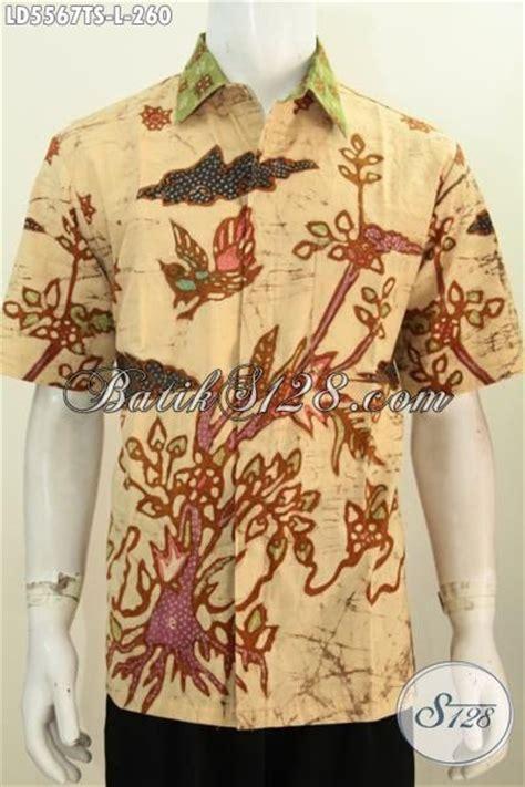 desain baju batik untuk orang pendek baju kemeja batik cowok model lengan pendek busana batik
