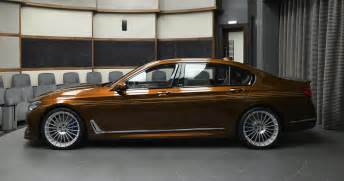 Bmw B7 Alpina Alpina B7 Individual Certainly Looks Different In Chestnut