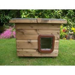 pent outdoor cat house kennel