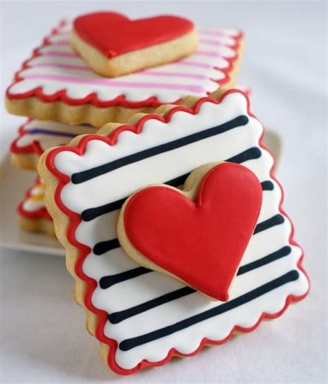 decorated valentines cookies the 30 best decorated cookies for s day