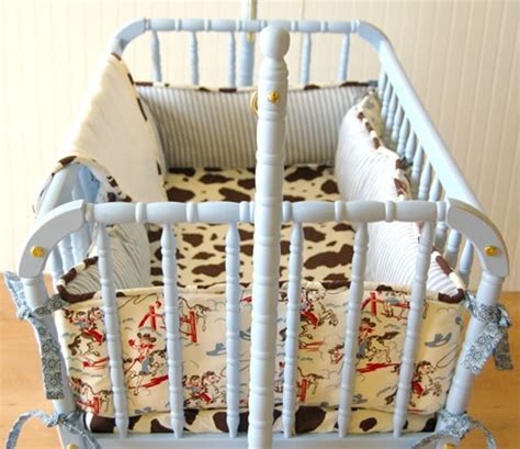 Vintage Cowboy Crib Bedding Vintage Cowboy Bedding For Baby Boy For The Home