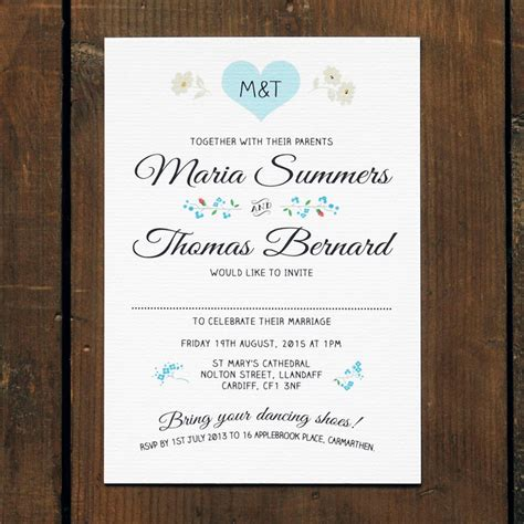 Wedding Invitation Name Order by Vintage Wedding Invitation Feel Wedding