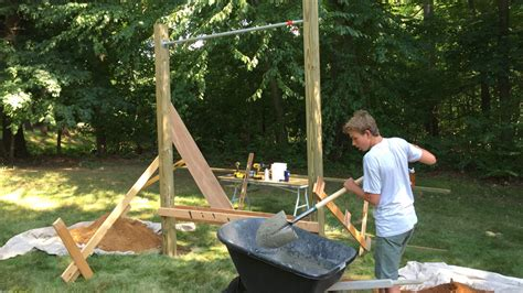 Build A Backyard Pull Up Bar by How To Build A Pull Up Bar Jon Peters Home