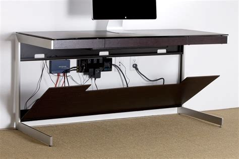 desk that hides wires your guide to creating the home office wire