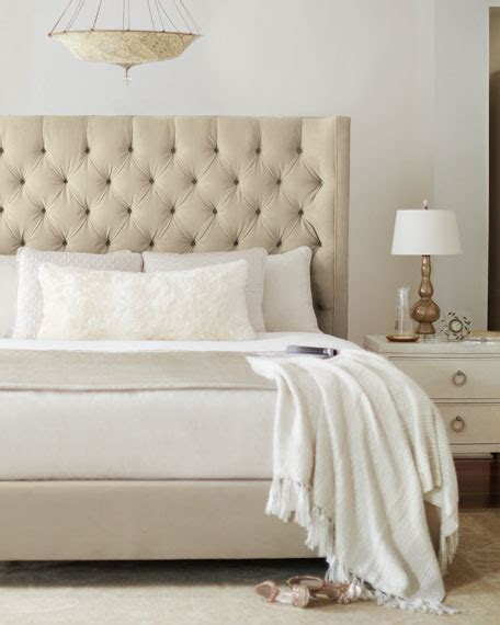 Tufted California King Bed by Bernhardt Tufted California King Bed Neiman