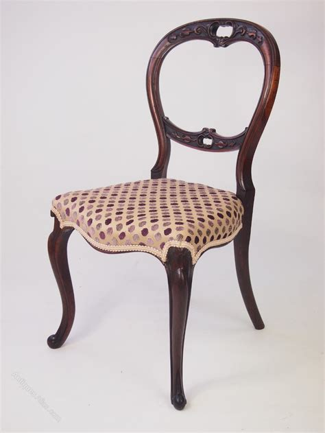 antique back chairs antique rosewood balloon back chair antiques atlas