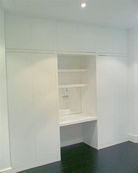 Wardrobes And Dressing Tables by Built In Wardrobe With Dressing Table Future House