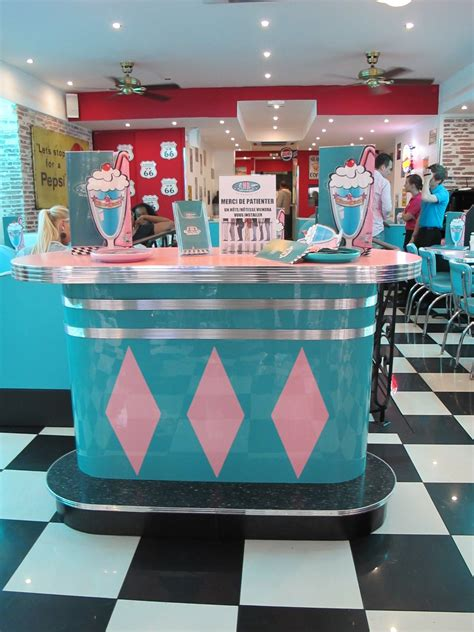 Retro Diner Le by 1950 Diner Decor Hd Diner In Op 233 Ra 50s Retro