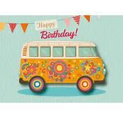 Happy Birthday Van  Cards Send Real