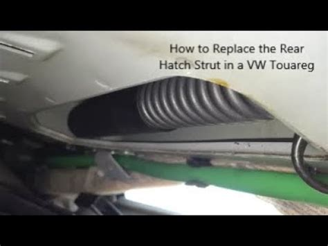 how to replace rear shocks buyautoparts com youtube how to replace volkswagen touareg rear hatch struts youtube