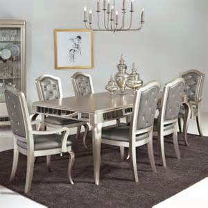 samuel 7 pc table chair set royal