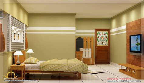 Home Plans With Photos Of Interior Beautiful 3d Interior Designs Kerala Home Design And Floor Plans