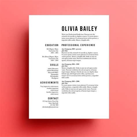 Instant Resume Templates by Resume Template Cover Letter Instant Resume