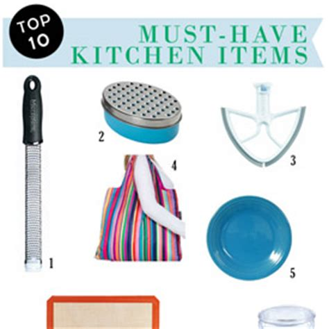 Kitchen Items 10 My 10 Must Kitchen Items And Hey Most Of Them Would