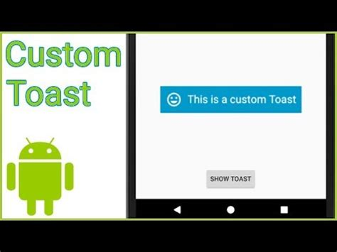 android studio toast tutorial custom toast android studio tutorial wikitimes times