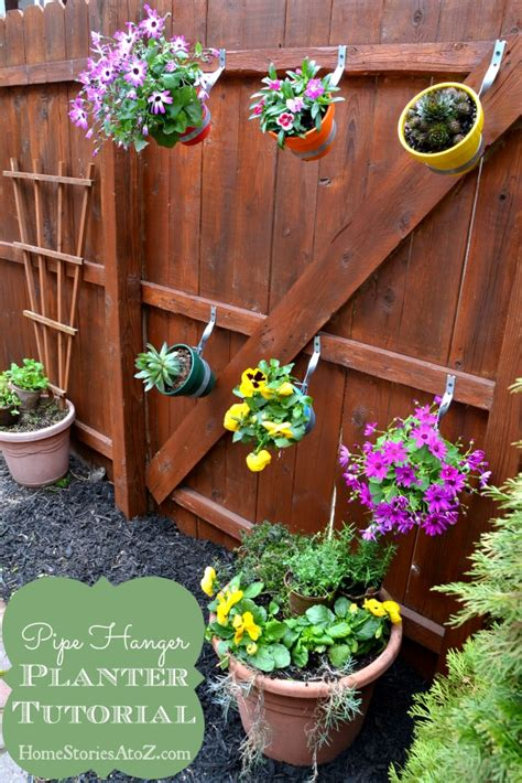 Flower Planters For Fences by Garden Do It Yourself Fence Planter Home Stories