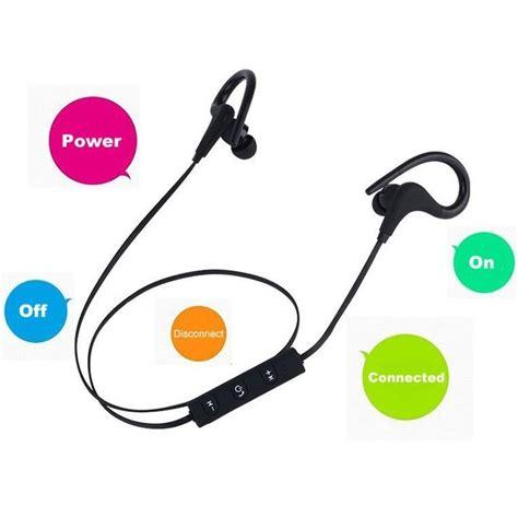 Power Sport Bluetooth Earphone With Microphone Kin 77 power sport bluetooth earphone with microphone kin 77 black jakartanotebook