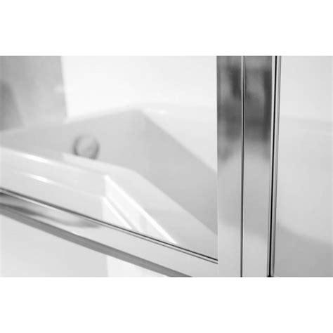 pare baignoire catrix ii 3volets pare baignoire salle de