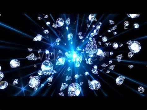 video background beautiful diamonds falling youtube