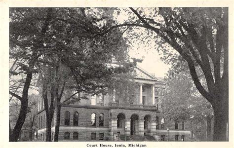 michigan court house ionia michigan court house antique postcard j64535 mary l martin ltd postcards