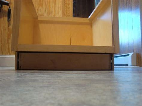 Toe Kick Step Stool by East Coast Custom Carpentry