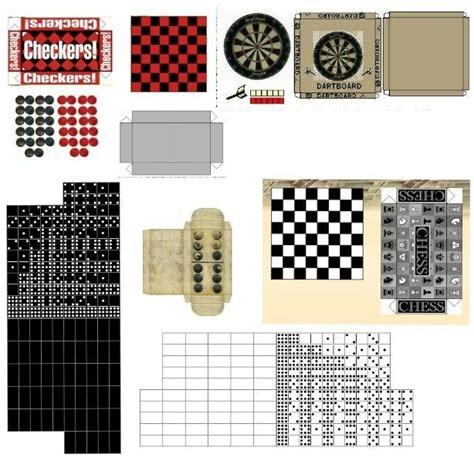 barbie printable board games miniature printables games muebles para mu 241 ecas