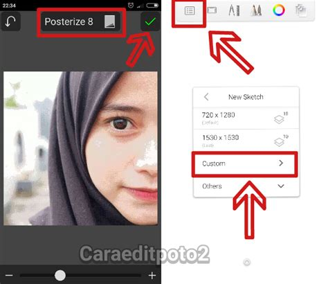 tutorial sketchbook pro di android tutorial edit foto vector vexel di aplikasi sketchbook android