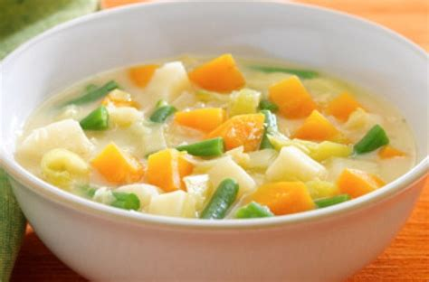 chunky winter vegetable soup recipe chunky vegetable soup recipe goodtoknow