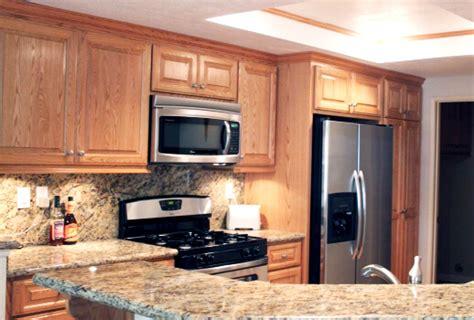 Red Oak Kitchen Cabinets in Southern California   Red Oak