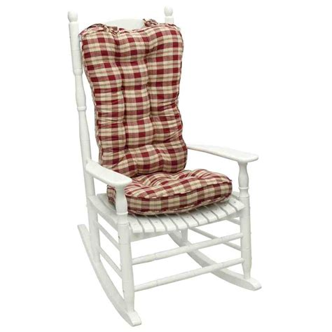 rocking chair cushions jumbo rocking chair cushion sets home furniture design