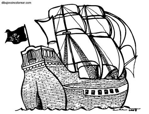 barcos para colorear de piratas dibujos de barcos pirata para colorear