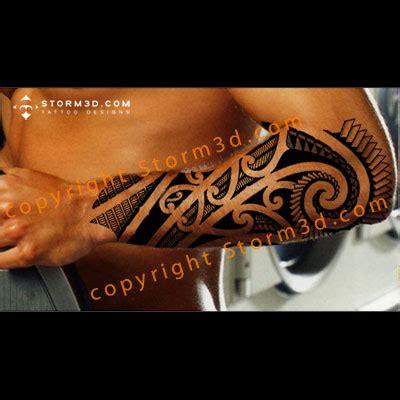 storm 3d tattoo designs maori koru design with copic marker shading