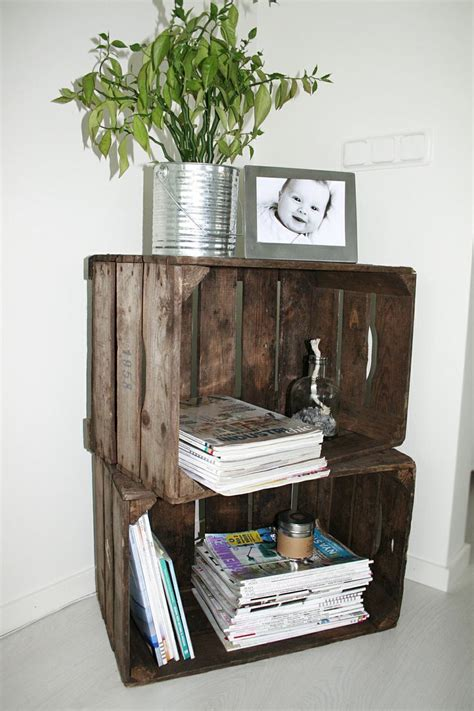 Decorating Ideas Using Wooden Crates Wooden Crates Ideas Wooden Crates Decorating With
