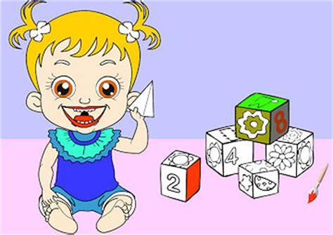 baby hazel coloring pages gioco colora hazel