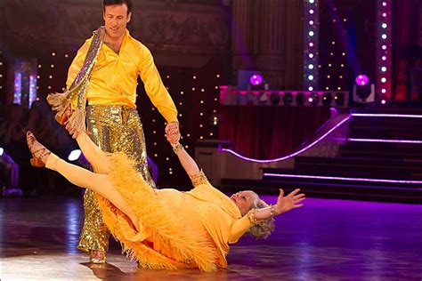 swing and samba bbc in pictures ann widdecombe on strictly