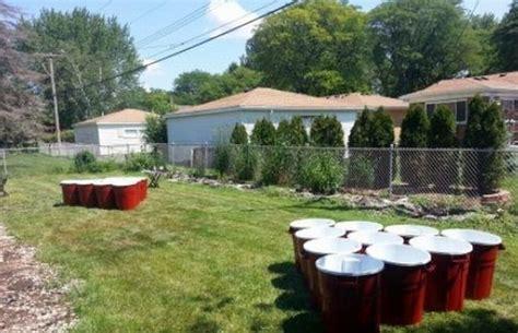backyard beer pong shamone efyoo2 life sized beer pong