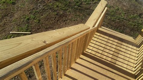 Deck Stair Handrail deck stair handrail height handrail height for stairs on a